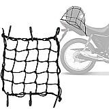 Rede elastica aranha piraval capacete bagageiro preto 35 x 35cm