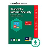 Kaspersky internet security 1 ano 2 pc