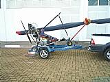 Ultra leve trik motor rotax 532 partida eletrica