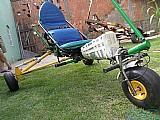 Carrinho de trike voyager e carretinha reboque reclal