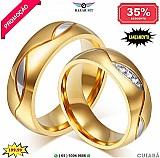 Aliancas de casamento ( cuiaba mt ) noivado compromisso barato ouro 18k banhado luxo namoro