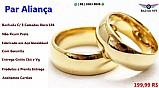 Par de alianca tradicional ( cuiaba mt ) casal casamento noivado namoro tradicionau nova barato