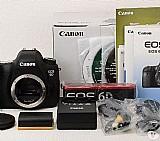 Canon eos 6d com lente 24-105 usm  32gb
