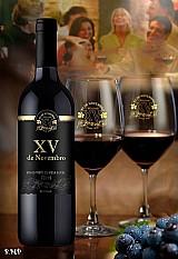 Vinho tinto de mesa suave bordô 720 ml cx com 12 u