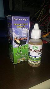 Oleo composto de avestruz