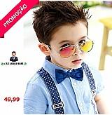 Bazar mt - ã³culos sol aviador infantil lente cores protecao uv400 lindo ( cuiaba )