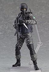 Boneco militar soldado metal gear solid 2 estilo swat