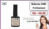 Bazar mt - top coat cnds profissional - alto brilho ( cuiaba )