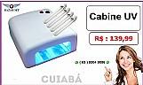 Bazar mt -  cabine estufa forno uv para gel / acrygel profissional ( cuiaba )