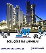 Valvulas industriais venda e manutencao