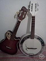 Aulas de cavaquinho e banjo