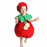 Fantasia infantil bebe de morango moranguinho