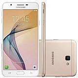 Smartphone samsung galaxy j7 prime g610m dourado - dual chip, 4g,  tela full hd 5.5