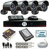 Kit 4 cameras hdcvi 1080p instalado confira!!!