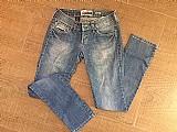 Calça jeans feminina da calca coca-cola
