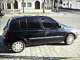 Clio 2000 azul 4 portas , insufilme pneus e revisao ok recibo em branco