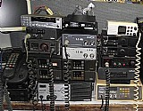 Lote com 43 radios diversos px vhf uhf