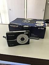 Maquina fotografica olimpus x40 em perfeito estado de conservacao. troca-se por qualquer coisa,  rs.