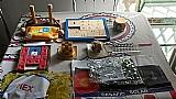 Kit com 10 itens: jogos de tabuleiro e quebra-cabecas