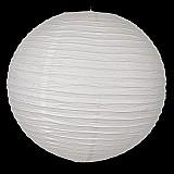 Luminaria de papel japonesa 30 cm branca