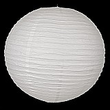 Luminaria de papel japonesa 20 cm branca