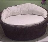 Sofá em chaise concha de 1.60 0, 80 cabeceira 0, 40 pés
