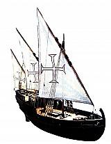 Caravela portuguesa - velas latinas - escala 1 / 50
