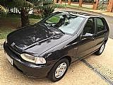 Fiat palio edx 1.0,   direcao e vidros,   preto 4 p 1997,  piracicaba