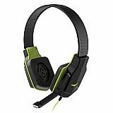 Fone de ouvido headset gamer verde - pulse - ph146