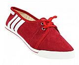 Sapatilha feminina adidas vermelho