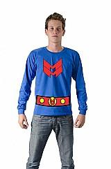 Camiseta super heroi quadrinhos miracleman para festa