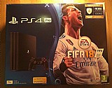 Sony playstation 4 ps4 pro 1tb fifa 18 consola preta