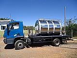 Tanque rodoviário,   tanque para coleta de leite