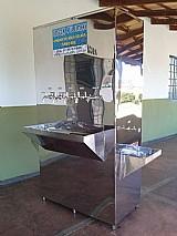 Bebedouro de água industrial em aco inox r$205.000