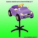 Cadeira carrinho corte de cabelo e atendimento infantil