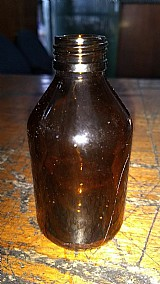 Vidros ambar de 120 ml boca 24