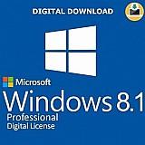 Sistema operacional microsoft windows 8.1 pro – 32 / 64 bits chave por e-mail