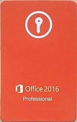 Office professional 2016 cartao fpp