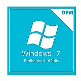 Windows 7 professional 32/64bits selo holografico oem