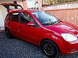 Ford fiesta,  vermelho,   4 portas,  2003,  venda em sc