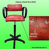 Cadeira infantil para corte de cabelo de criancas cabeleireiro