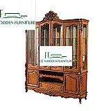 American country style solid wood cabinet drinks cabinet bar cabinet wine storage
