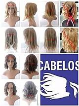 Perucas cabelos naturais