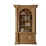 Handmade wood bookcase home office furniture