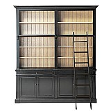Nordic style wood bookcase birch bookcase for study room book case