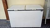 Freezer horizontal 410 litros 2 portas - r$ 300