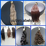 Cabelos naturais para mega hair