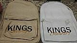 Mochila kings sneakers original