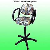 Cadeira corte capilar infato juvenil