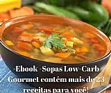 Ebook sopas low-carb gourmet